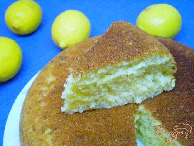 Фото приготовление рецепта: Лимонный пирог шаг №9