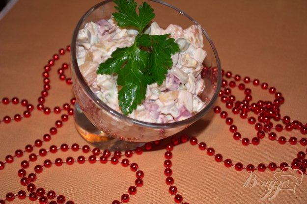 Рецепт Свекольный салат с курицей