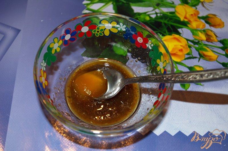 Фото приготовление рецепта: Салат с брюссельской капустой шаг №3