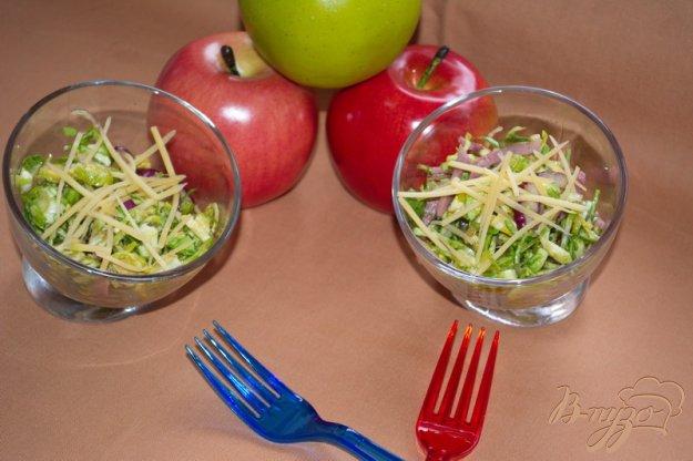 фото рецепта: Салат с брюссельской капустой