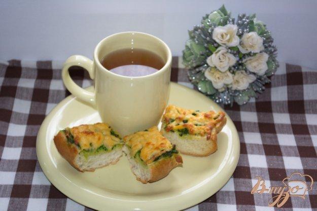 Рецепт Гренки с сыром и зеленью