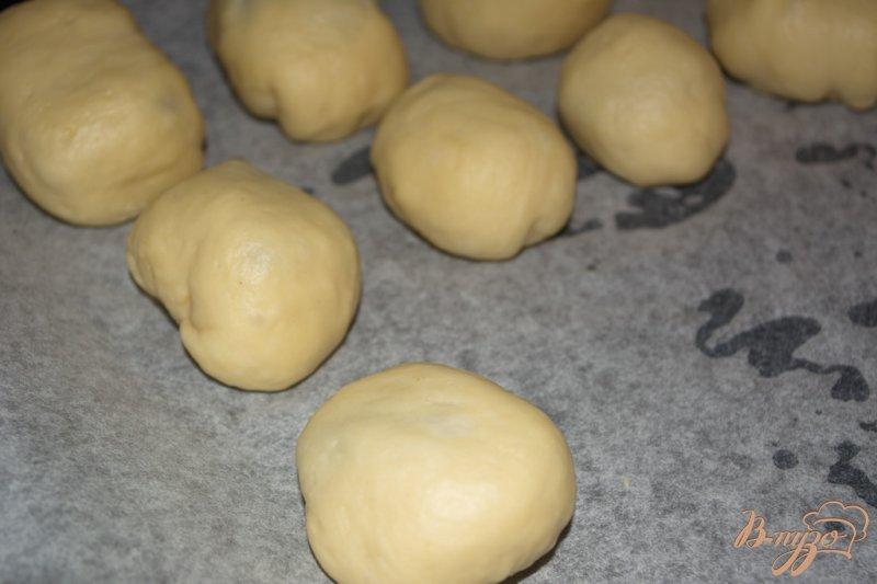 Булочки с персиковым повидлом