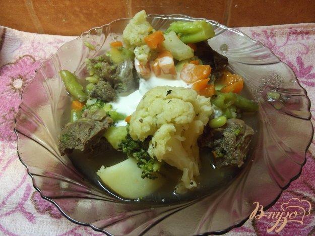 Рагу з яловичини з овочевим асорті. Як приготувати з фото