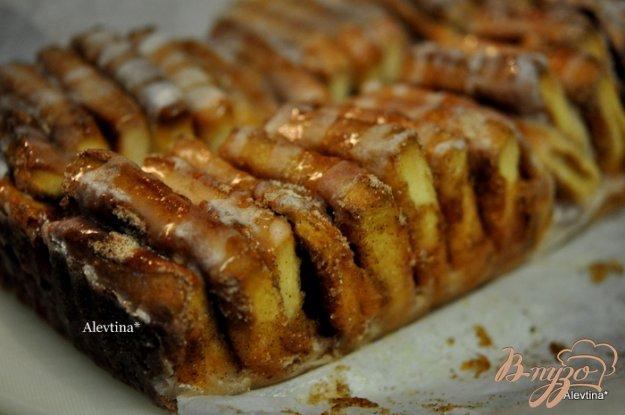 фото рецепта: Сладкий десертный хлеб кусочками
