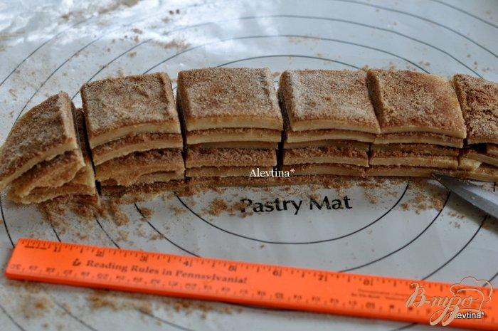 Фото приготовление рецепта: Сладкий десертный хлеб кусочками шаг №5