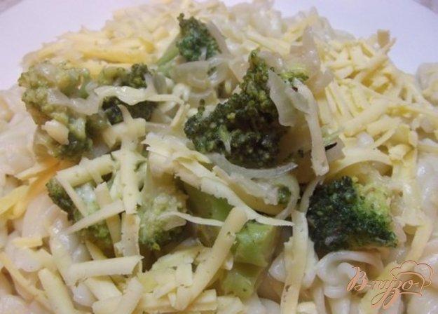 Рецепт Макароны под соусом из брокколи