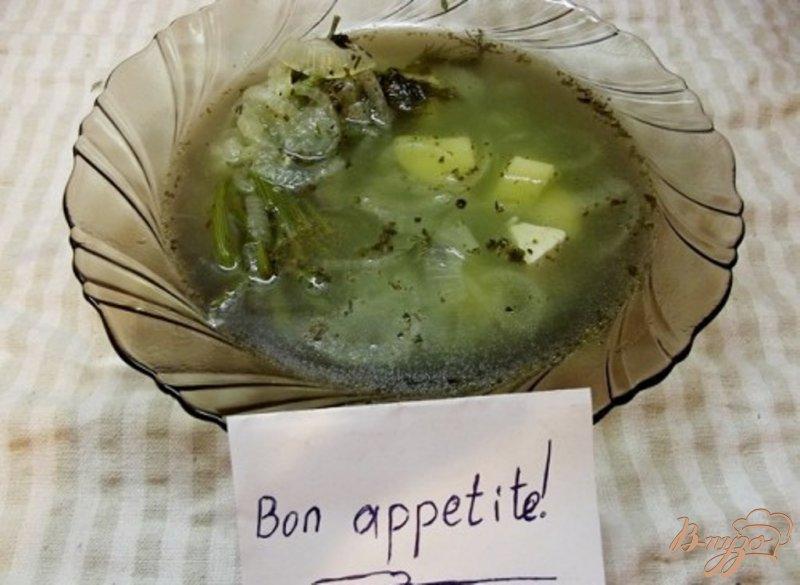 Фото приготовление рецепта: Французский луковый суп шаг №9