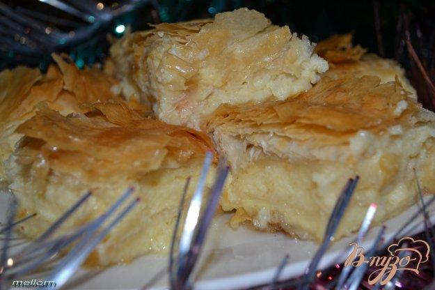 """Рецепт """"Галактобуреко"""" Греческий сладкий пирог"""