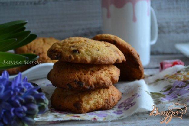 фото рецепта: Кокосово-шоколадные коржики