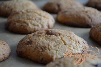 Кокосово-шоколадные коржики