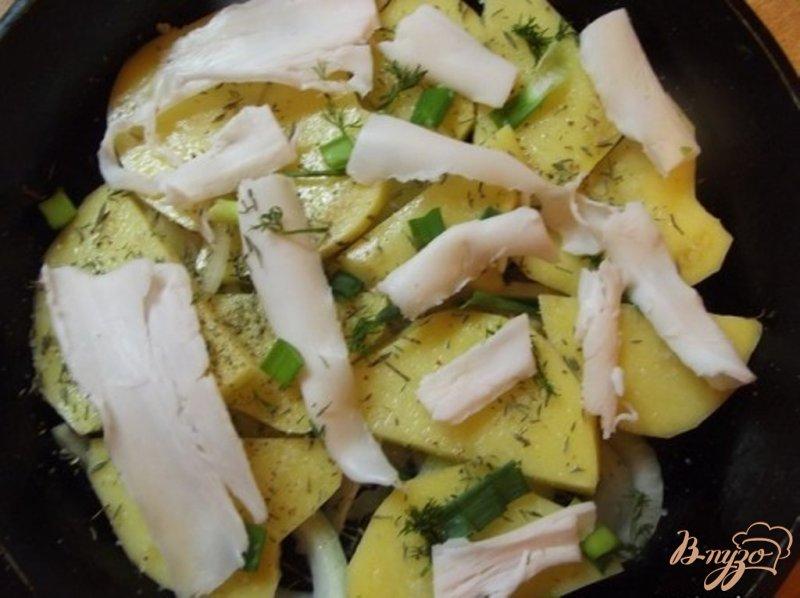 Фото приготовление рецепта: Нежный запеченный картофель шаг №5