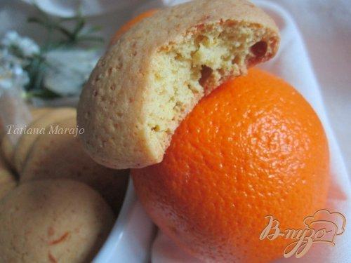 Апельсиновые коржики