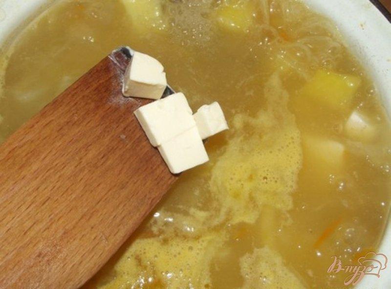 Фото приготовление рецепта: Сливочный суп с цветной капустой шаг №7