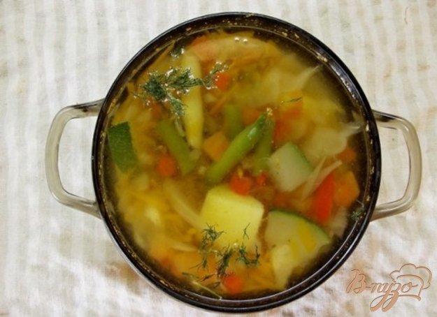 фото рецепта: Суп из девяти овощей