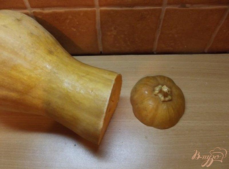 Фото приготовление рецепта: Теплый салат с тыквой и свеклой шаг №1