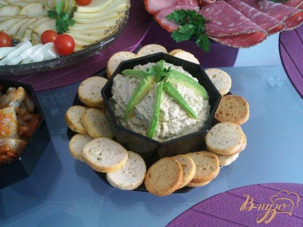 Рецепт Дип из печени трески и авокадо