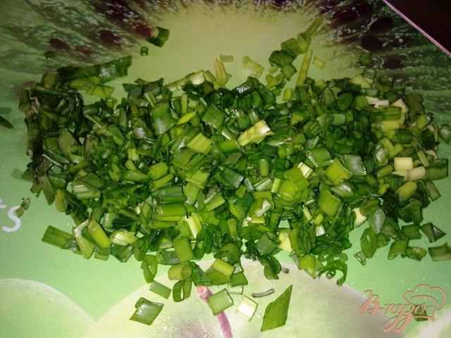 Фото приготовление рецепта: Мясной салат с хреном шаг №6