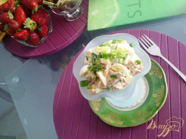 Рецепт Мясной салат с хреном
