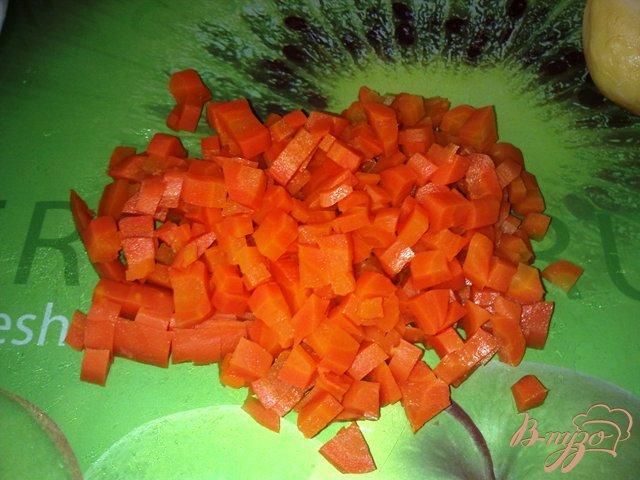 Фото приготовление рецепта: Мясной салат с хреном шаг №1