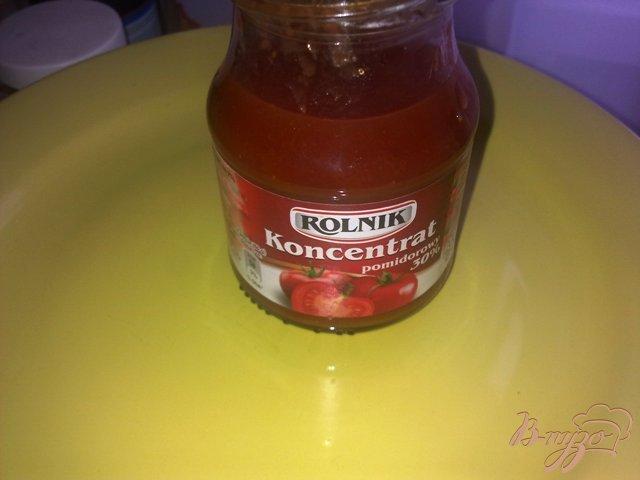 Фото приготовление рецепта: Суп  томатный с чечевицей шаг №4