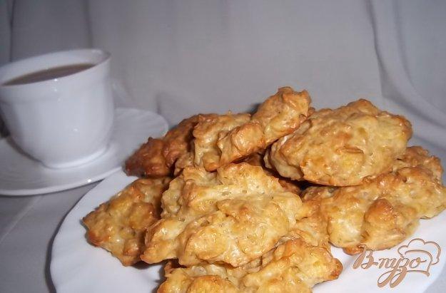 Рецепт Сырные оладушки с хлопьями