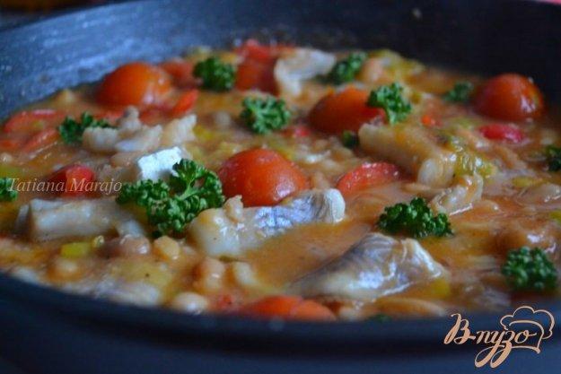 Рецепт Овощное рагу с рыбой