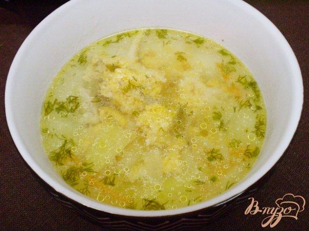фото рецепта: Суп с рыбной икрой