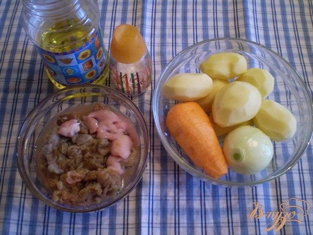 Фото приготовление рецепта: Суп с рыбной икрой шаг №1