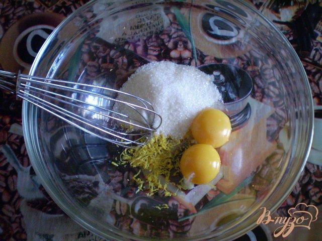Фото приготовление рецепта: Оладьи молочные с лимоном шаг №2