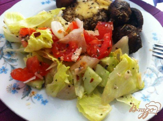 Рецепт Овощной салат с сыром Джугос