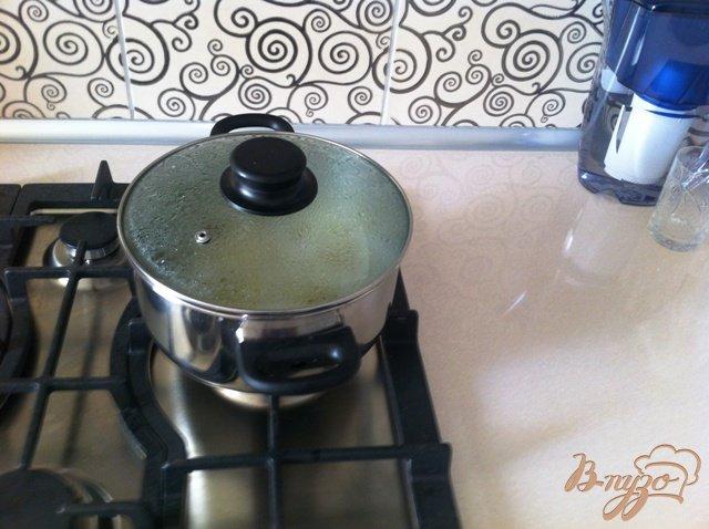 Фото приготовление рецепта: Воздушное пюре с шафраном. шаг №4