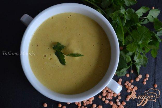 Рецепт Чечевичный суп-пюре карри