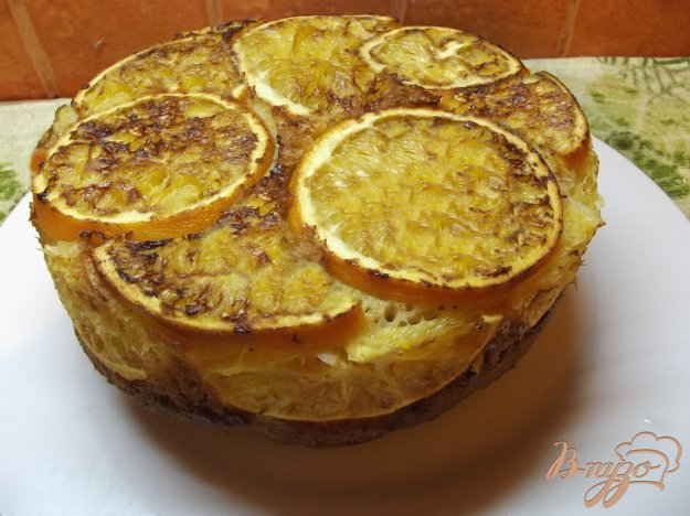 фото рецепта: Апельсиновый пирог с кардамоном