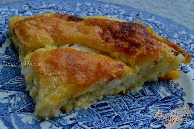 Рецепт Слоеный пирог с сыром
