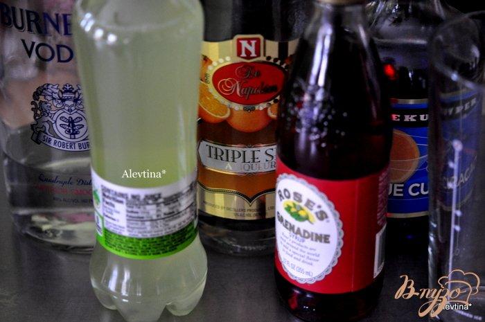 Фото приготовление рецепта: Праздничный коктейль шаг №1
