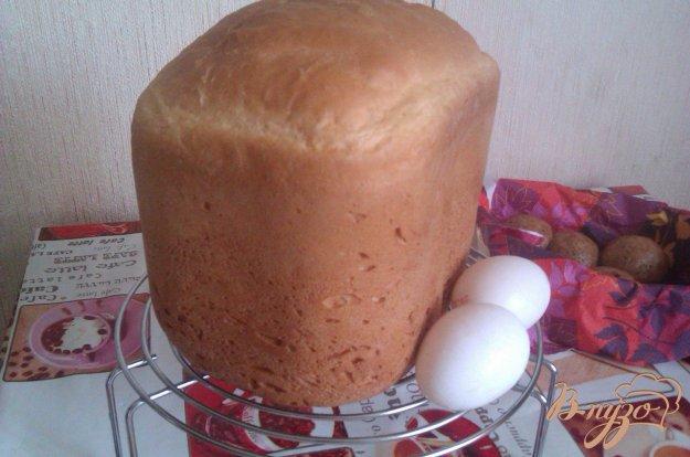Рецепт Молочный хлеб на куриных яйцах