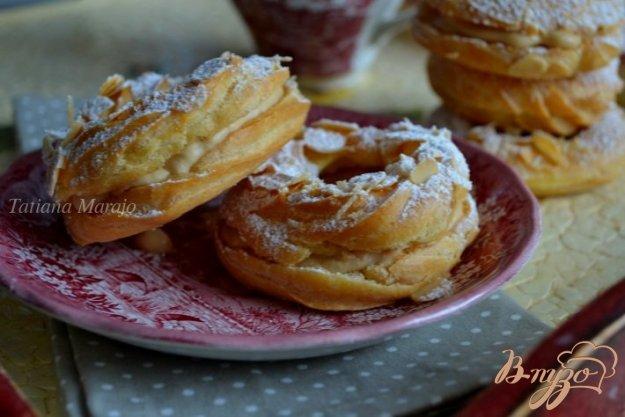 Рецепт Заварные кольца с кофейным кремом