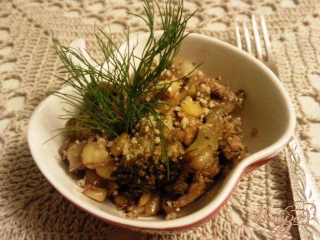 Рецепт Гарнир из брокколи и кукурузы