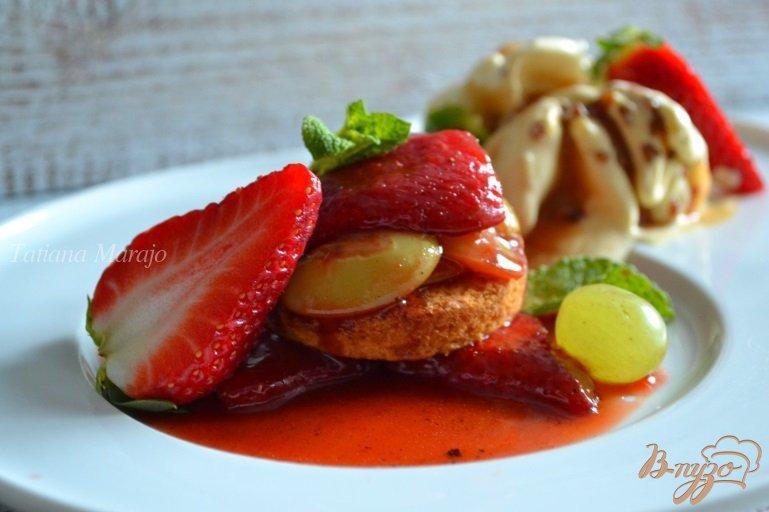 Фото приготовление рецепта: Фруктовый десерт шаг №6