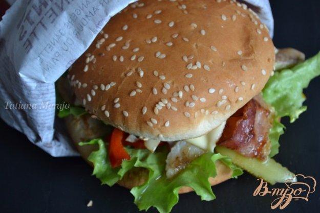 Рецепт Бургер с рыбой