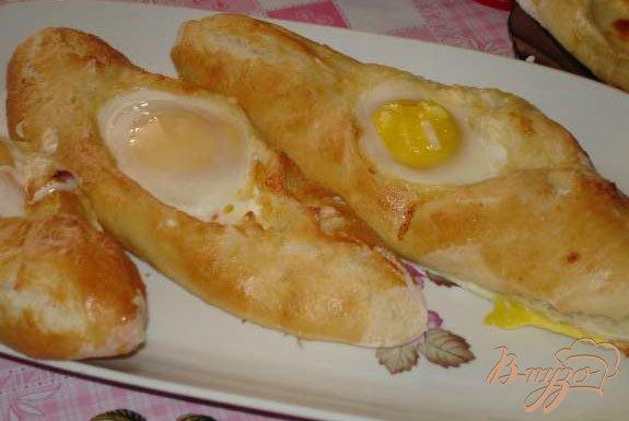 Рецепт Аджарские хачапури (с яйцом и без него)