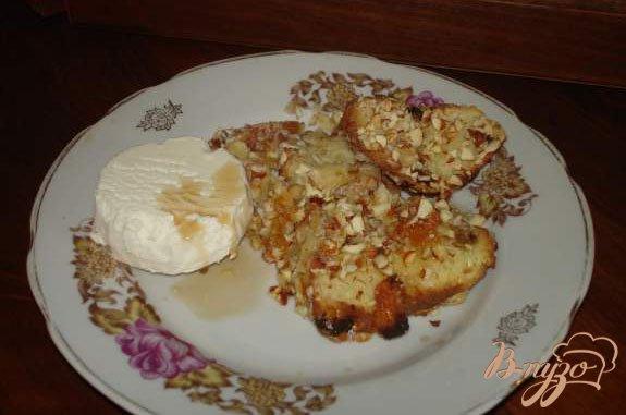 Фото приготовление рецепта: Хлебный пудинг (или куда деть черствые булки) шаг №5