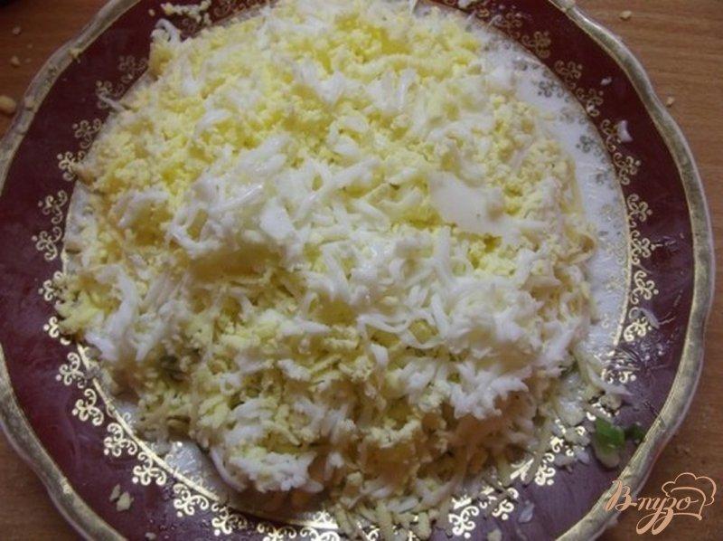 Фото приготовление рецепта: Рыбный салат шаг №6