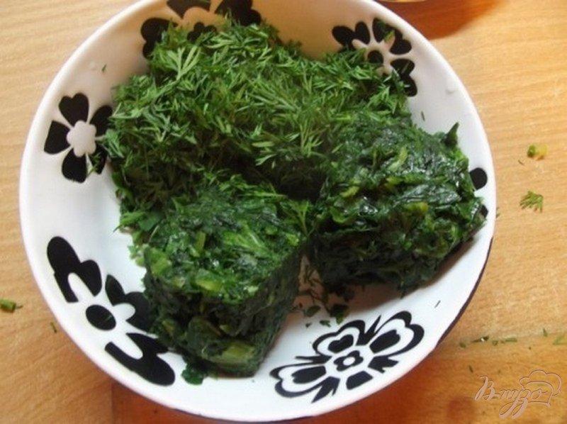 Фото приготовление рецепта: Картофель с листовой зеленью шаг №3