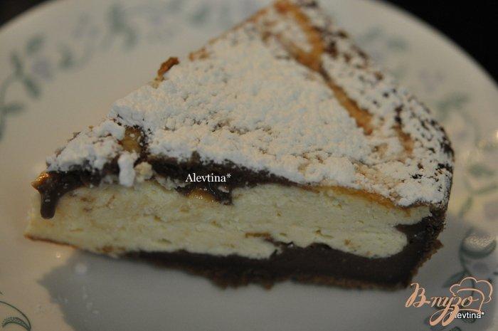 Фото приготовление рецепта: Творожный десерт к чаю шаг №6
