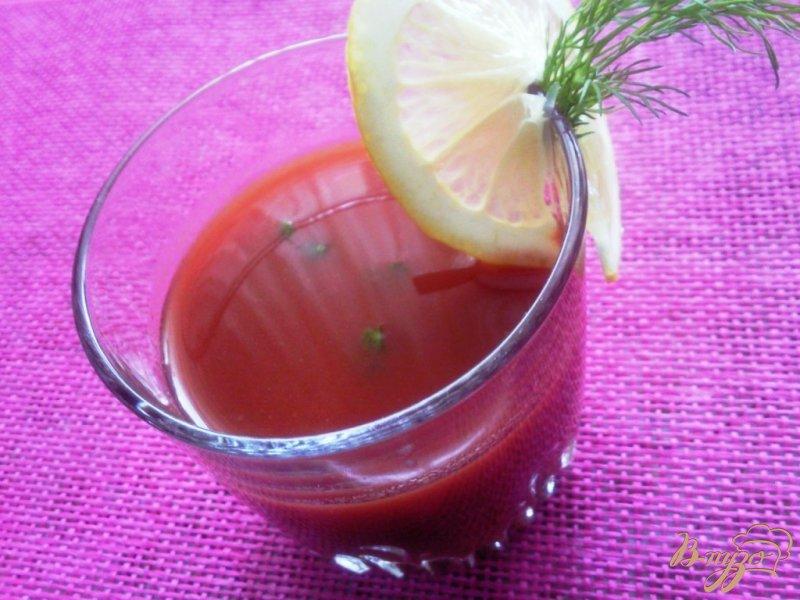 Фото приготовление рецепта: Томатный коктейль по -австралийски шаг №3