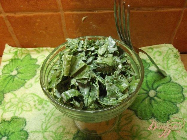 Рецепт Салат из листовой зелени