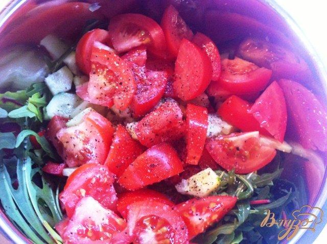 Фото приготовление рецепта: Овошной mix шаг №4