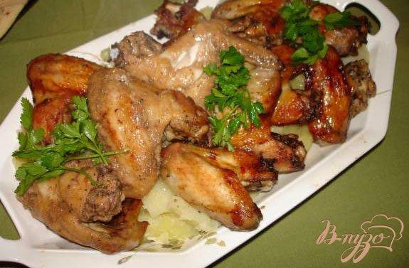 фото рецепта: Горчичные крылышки