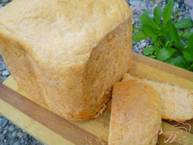 Фото приготовление рецепта: Томатный хлеб с укропом шаг №6